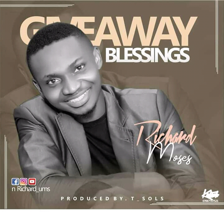Richard Moses Giveaway Blessings